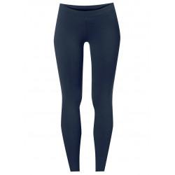 Yoga pants long en coton bio bleu marine