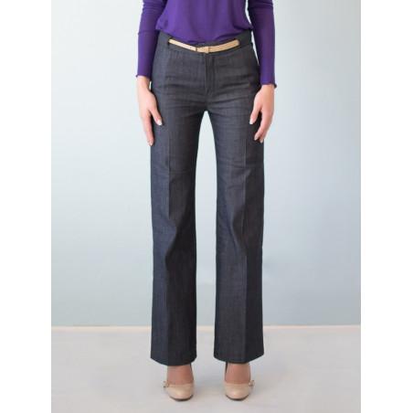 Organic denim Charlotte suit pants