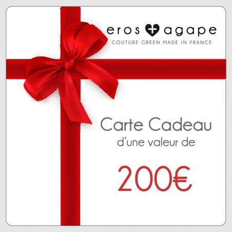 Carte cadeau 200€