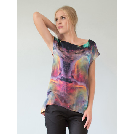 Galaxy bamboo Boheme top