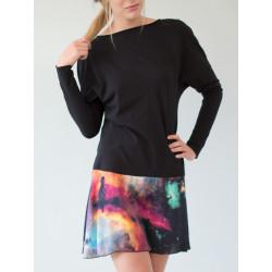 Athena organic black & Galaxy dress