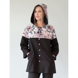 Manteau Victoria Noir Boréal