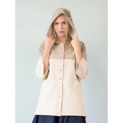 Manteau Victoria Natural