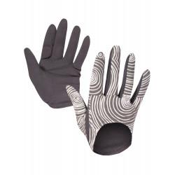 Organic spiral grey low gloves
