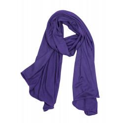 Foulard en bambou violet