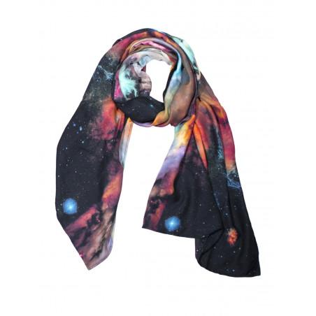 Galaxy bamboo scarf