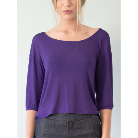 Purple Bloom top