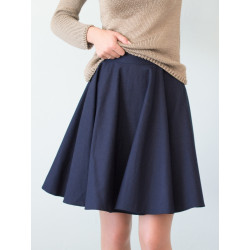 Organic denim Clara skirt