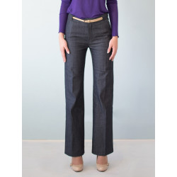 Organic denim Charlotte suit pants