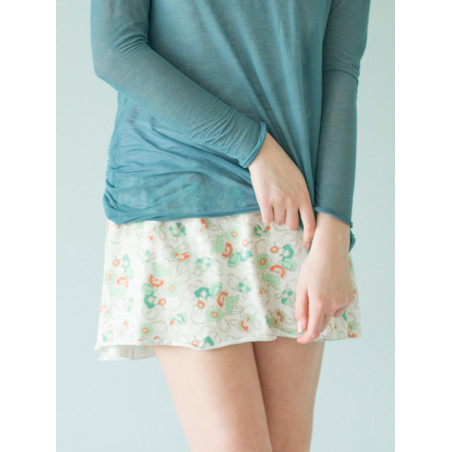 Organic liberty Athena short skirt