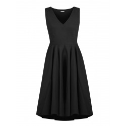 Black silk cocktail dress Suzy