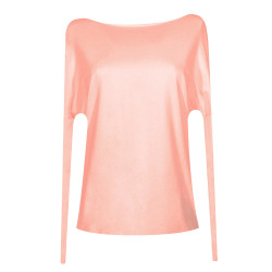 Pink Organic backless Athena top
